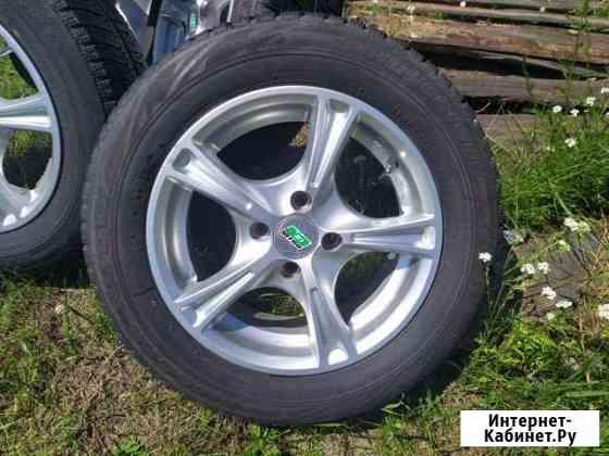 Bridgestone Blizzak RevoGZ R14 на литье Nitro 4*98 Абакан