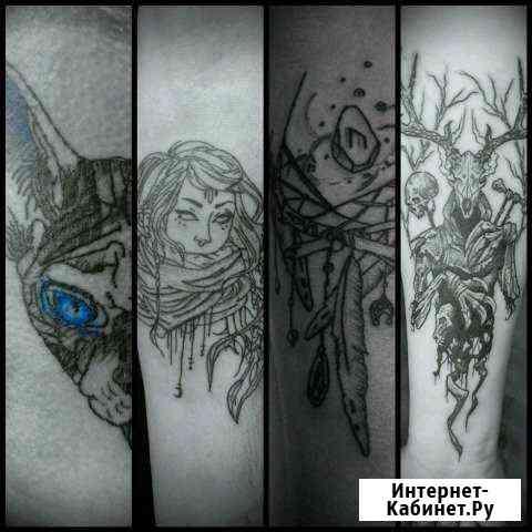 Художественная татуировка. Пирсинг. Дреды Саратов