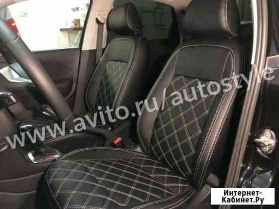 Авточехлы каркасные для Volkswagen Polo 2015 Сургут