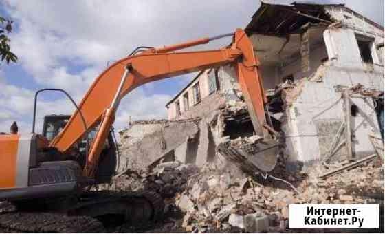 Снос домов,планировка,котлован,срезка грунта Пермь