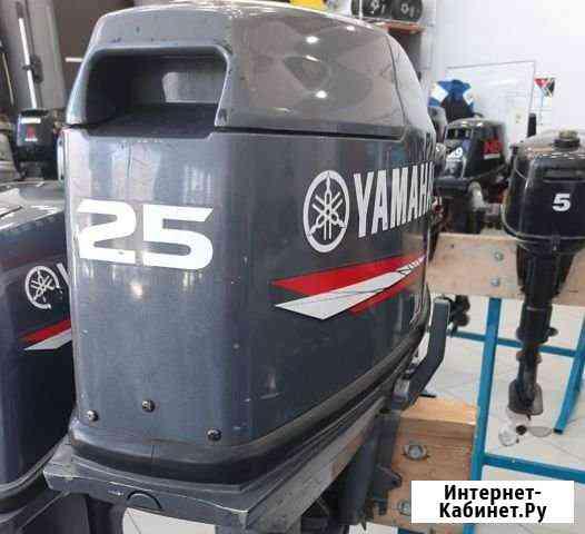 Лодочный мотор Yamaha 25bwcs Б/У Тамбов