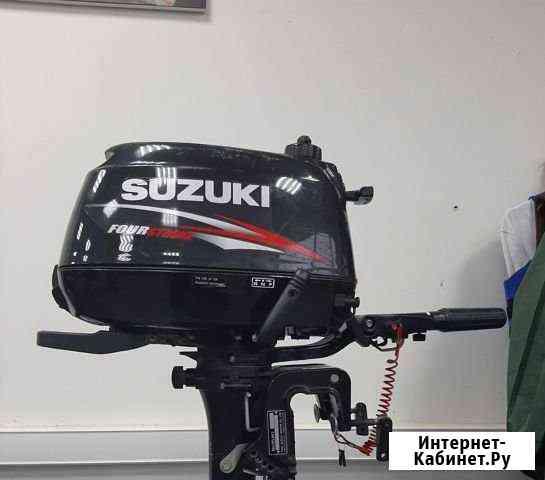 Лодочный мотор Suzuki DF6S Б/У Саранск