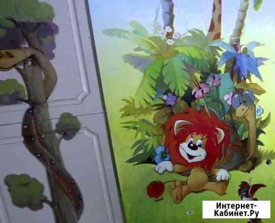 Роспись стен в детских садах и клубах Калуга
