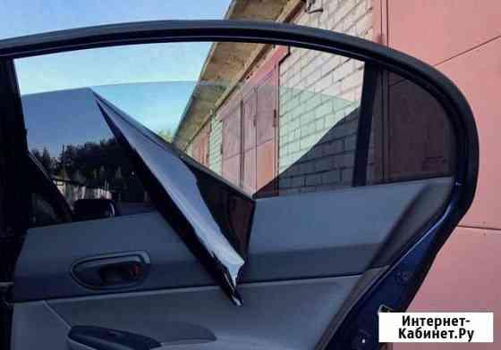 Съемная силиконовая тонировка на Mitsubishi Delica Калуга
