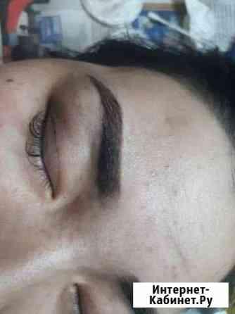 Перманентный макияж бровей Москва