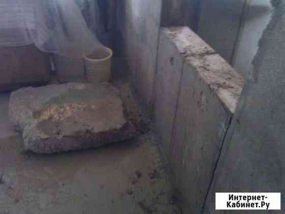 Демонтаж, снос стен, перегородок, перекрытий Киров