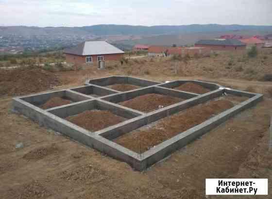 Заливка фундамента (бетона) Курчалой
