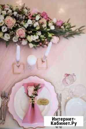 Оформление декор свадьбы банкета Санкт-Петербург