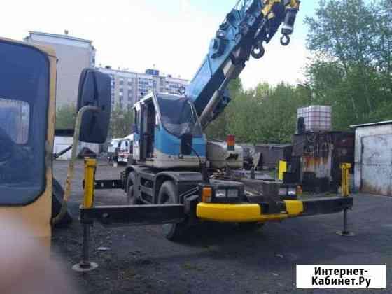 Услуги автокрана 10 тонн 24 метра Иркутск
