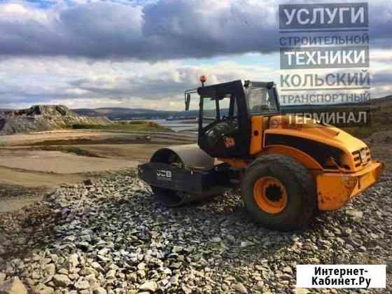 Виброкаток грунтовый (аренда катка) Мурманск