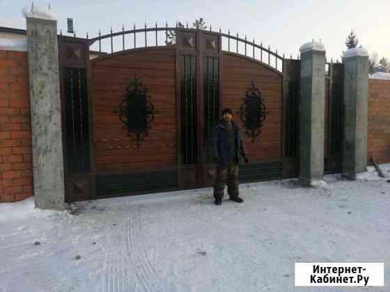 Изготовление монтаж ворот Шелехов