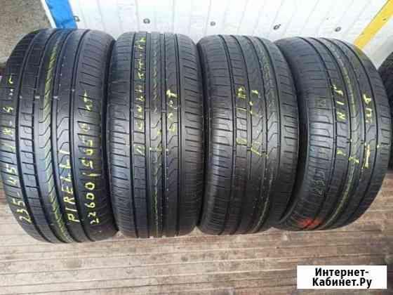 235-45-18 Pirelli 4 штук Летние Рязань