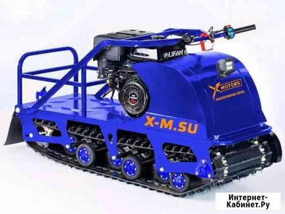 Мотобуксировщик X-motors snowdog 15 летняя цена Приобье