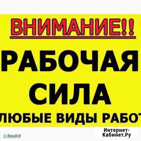 Услуги грузчиков, разнорабочих Новосибирск