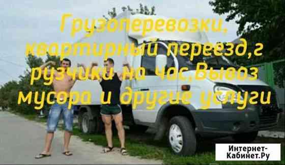 Газель грузоперевозки вывоз мусара услуги грузчико Павловск