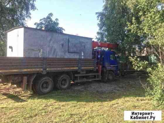 Перевозка гаражей, перевозка бытовок Уфа