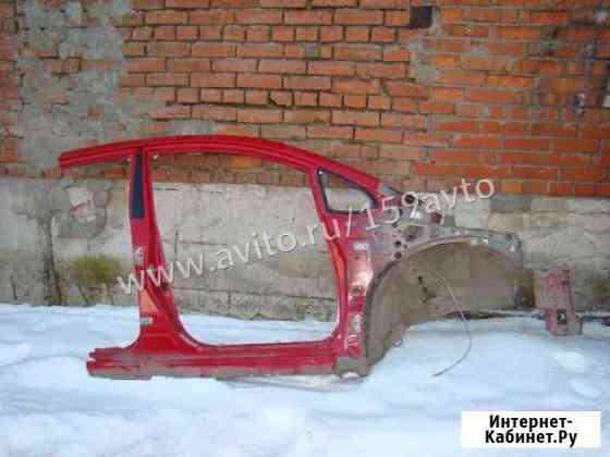 Порог со стойкой правый Toyota Auris (E150) Пермь