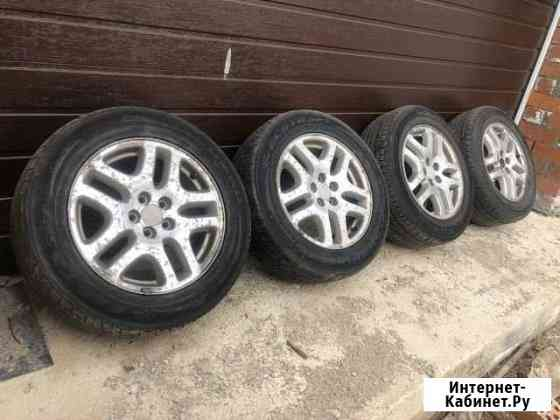 215/60r16 Kumho и литые диски Subaru Екатеринбург