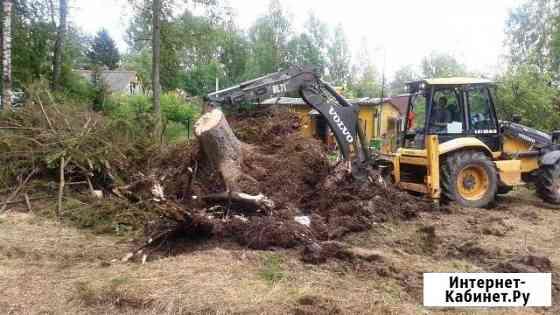 Корчевание пней, деревьев, лесополос, садов Александровка