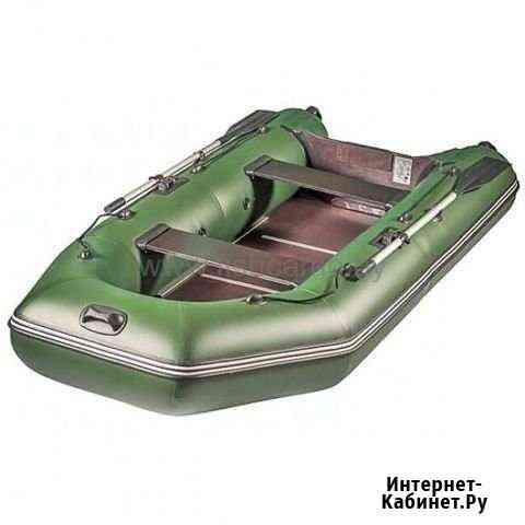 Лодка пвх Аква 2900 ск надувная под мотор Гусь-Хрустальный