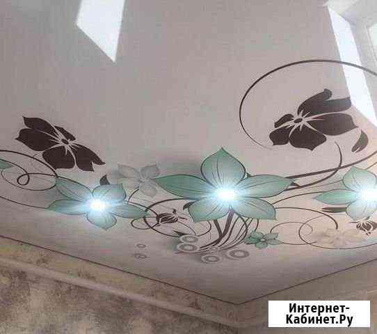 Натяжные потолки Отражение Ишимбай