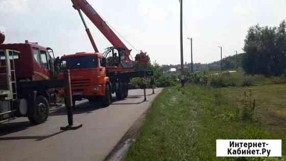 Автокран-вездеход Клинцы 55713-5К-4 Устье