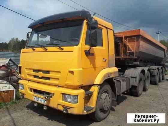 Перевозка сыпучих грузов до 20 м2 и до 26 тонн Кемерово