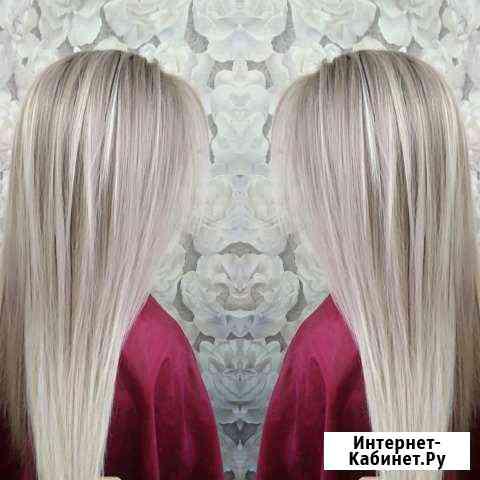 Окрашивания волос, стрижки, причёски и макияж Муром