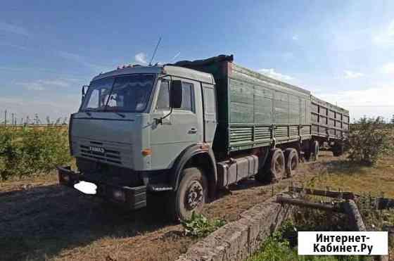 Камаз 53215 с прицепом Лог