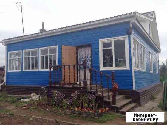 Дом 70 м² на участке 12 сот. Палатка