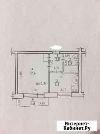 1-комнатная квартира, 25.1 м², 2/5 эт. Чита