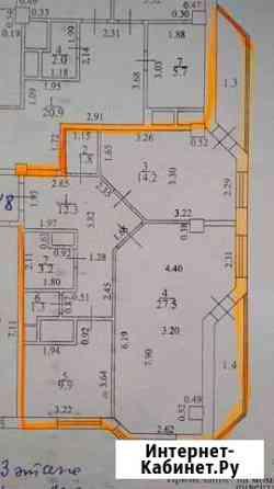 2-комнатная квартира, 70.2 м², 3/12 эт. Тольятти