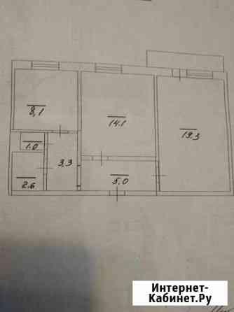 2-комнатная квартира, 54 м², 4/10 эт. Саратов