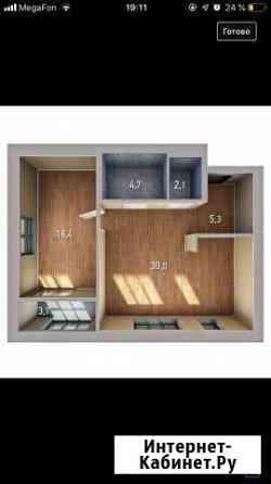 1-комнатная квартира, 62.3 м², 7/20 эт. Уфа