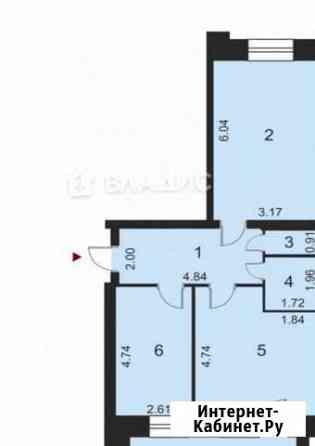 2-комнатная квартира, 63.6 м², 9/10 эт. Владимир