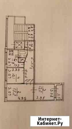 3-комнатная квартира, 60 м², 7/9 эт. Санкт-Петербург