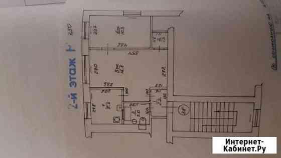 2-комнатная квартира, 40 м², 2/4 эт. Советск