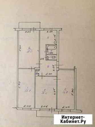 4-комнатная квартира, 75 м², 3/5 эт. Бийск