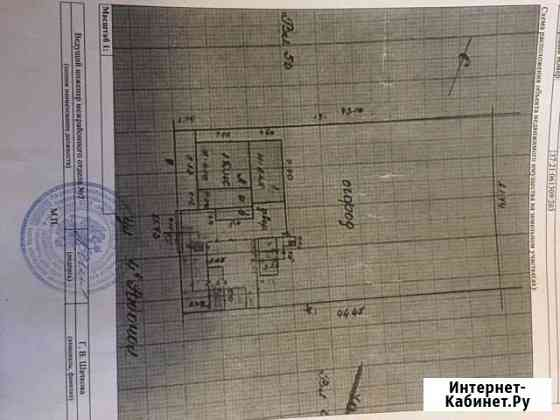 Дом 35.5 м² на участке 9.8 сот. Южа