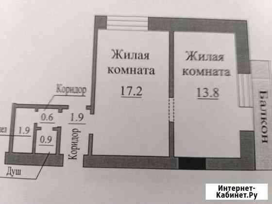 Комната 31 м² в 2-ком. кв., 2/9 эт. Саратов
