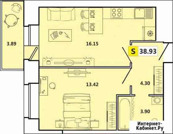 2-комнатная квартира, 39 м², 10/11 эт. Архангельск