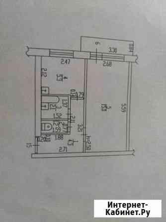 1-комнатная квартира, 29 м², 4/5 эт. Сибирский