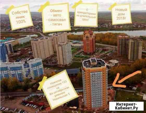 Нежилое 123 кв с арендаторами. Обмен Красноярск