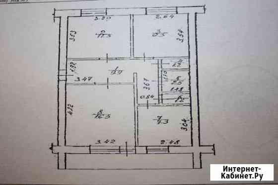 3-комнатная квартира, 60 м², 3/5 эт. Салават