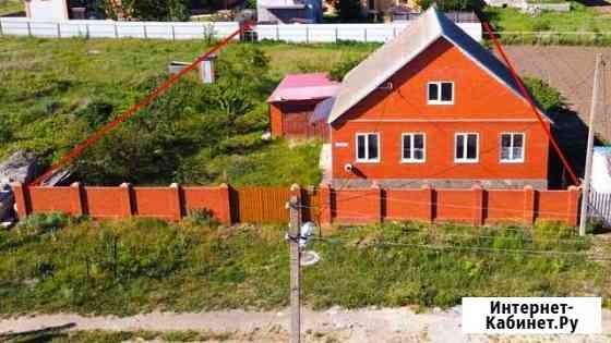 Дом 100 м² на участке 10 сот. Голубицкая
