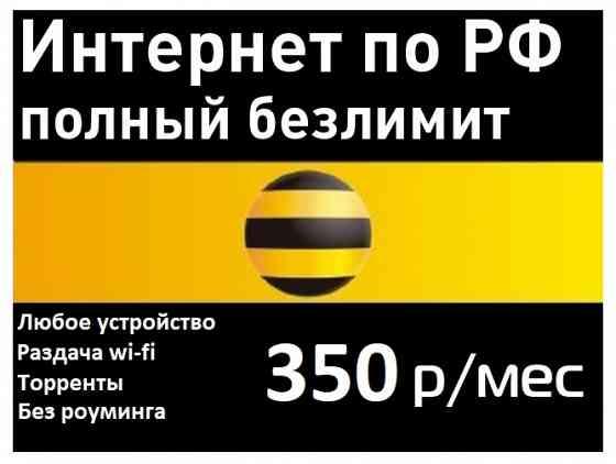Безлимитный интернет beeline 3G/4G для модемов, роутеров Санкт-Петербург