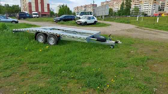 Новый. Польский прицеп автовоз 4.65м*2, 10м-2600кг Москва