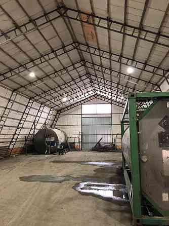 Теплый ангар 600м2 в аренду на охраняемой территории Кинель