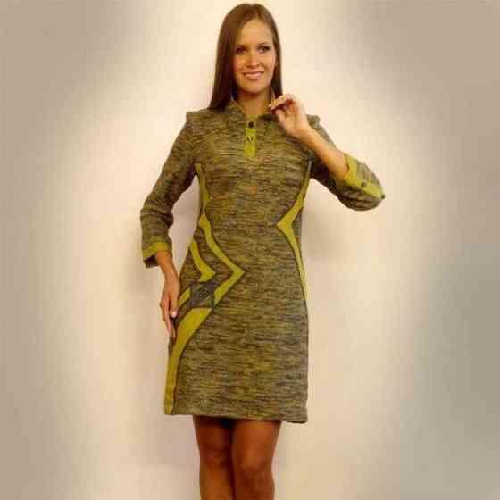 Элегантное трикотажное платье из льна Новое.52 р Санкт-Петербург