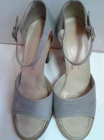 Туфли голубые(36 размер).Венгрия Санкт-Петербург
